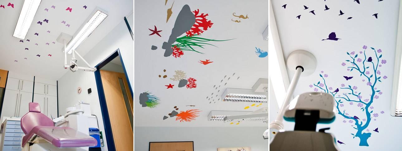 Wandbilder Sonderanfertigungen Praxen Arztpraxis Zahnarztpraxis Kieferorthopäde